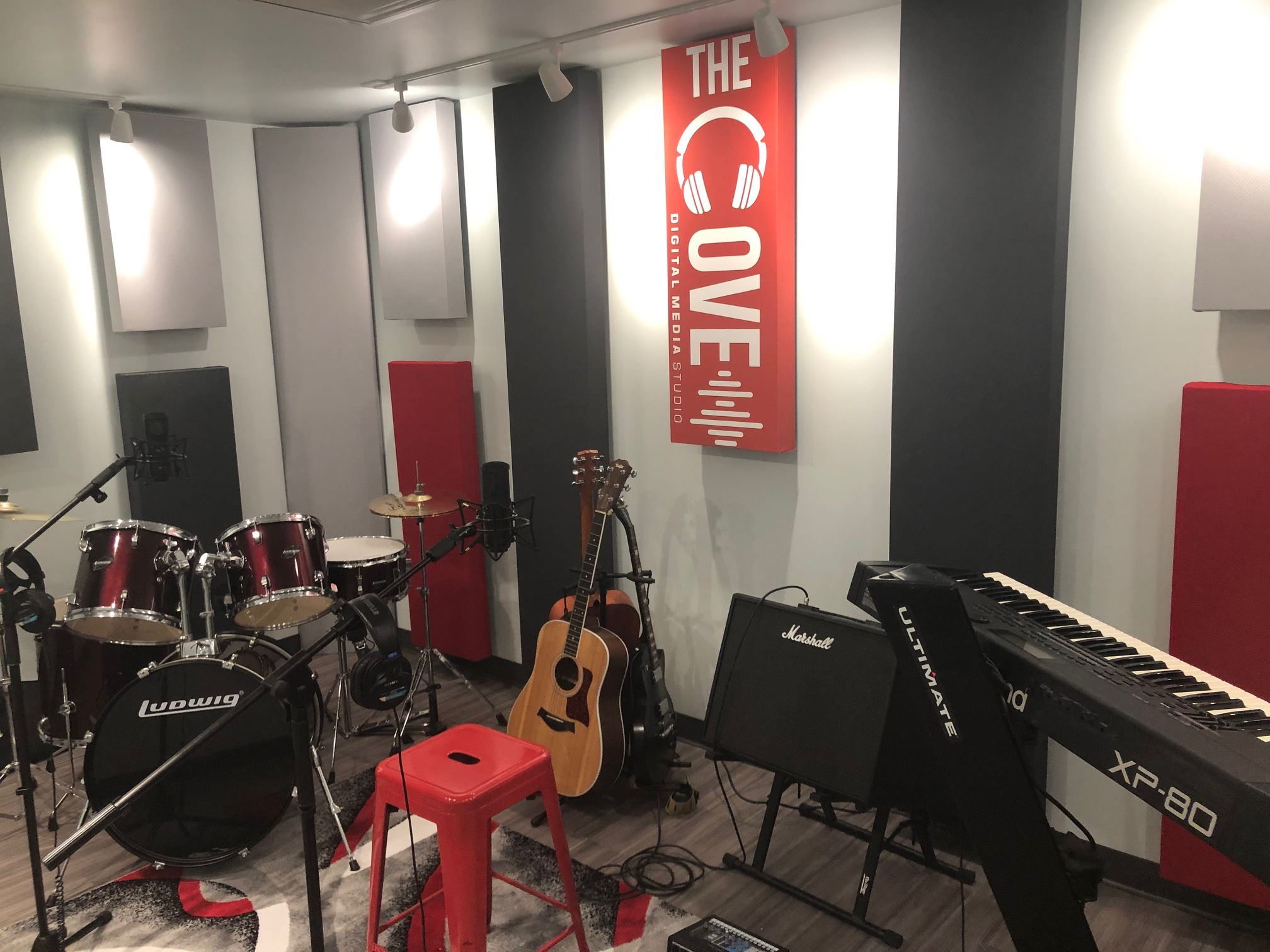cove sound room